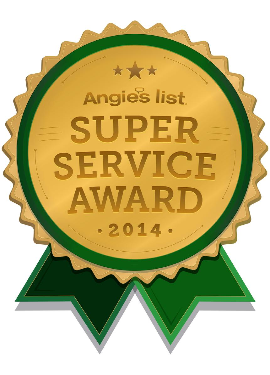 Angies List Super Service Award 2015